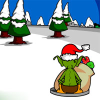 Free online flash games - Sledding Madness game - WowEscape