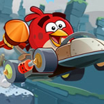 Free online flash games - Angry Birds Cross Country game - WowEscape