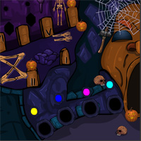 Free online flash games - NsrGames Halloween Party 2 game - WowEscape