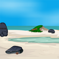 Free online flash games - Island Rescue Ship Escape game - WowEscape