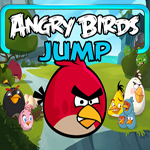 Free online flash games - Angry Birds Jump game - WowEscape