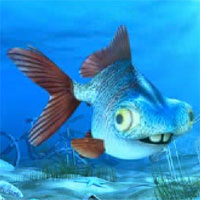 Free online flash games - George The Unlucky Fish game - WowEscape