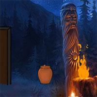Free online flash games - G2J Dark Forest Guard Escape game - WowEscape