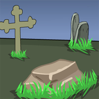 Free online flash games - GenieFunGames Billy Graveyard Escape game - WowEscape