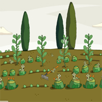 Free online flash games - Games2Jolly  Vegetables Rescue From Worm 2 game - WowEscape