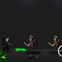 Free online html5 games - Nights Within Zombies game
