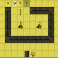 Free online html5 games -  Red Leopard game