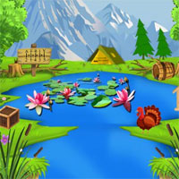 Free online flash games - Thanksgiving Release The Cute Fairy game - WowEscape