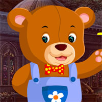 Free online flash games - G4K Rescue The Clad Bear