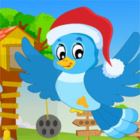 Free online flash games - G4K Santa Bird Rescue game - WowEscape