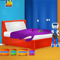Free online flash games - Kids Bed Room Escape game - WowEscape