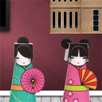 Free online flash games - 8b Japanese Doll Escape 2 game - WowEscape