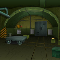 Free online flash games - EnaGames The Locker Terrorist Shelter game - WowEscape