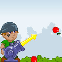 Free online flash games - Apple Cannon GamezHero game - WowEscape