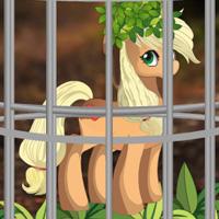Free online flash games - EscapeBuddies Escape Pony from Bush Forest game - WowEscape