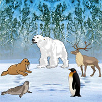 Free online flash games - Big North Pole Escape game - WowEscape