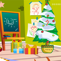 Free online flash games - Kindergarten Christmas Escape game - WowEscape