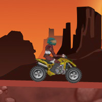 Free online flash games - ATV Canyon game - WowEscape