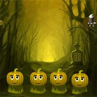 Free online flash games - Creepy pumpkin forest escape game - WowEscape