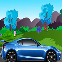 Free online flash games - Blue Car Escape game - WowEscape