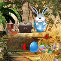 Free online html5 games - Magic Easter Garden game