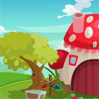 Free online flash games - Games4King Cute Girl Rescue From Garden House game - WowEscape