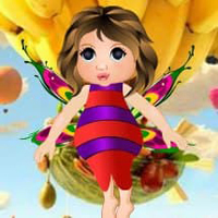 Free online flash games - Edible World Fairy Escape HTML5 game - WowEscape