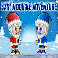 Free online flash games - Santa Double Adventure game - WowEscape