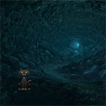 Free online flash games - Dark Water Cave Escape game - WowEscape