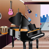 Free online flash games - Instrument Showroom Escape game - WowEscape