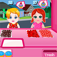 Free online flash games - Kids Cupcake Bar game - WowEscape