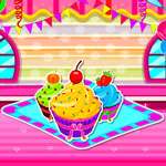 Free online flash games - Delicious Creamy Cupcakes game - WowEscape