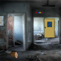 Free online flash games - GFG Abandoned Hospital Corridor Escape