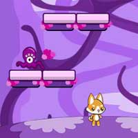 Free online flash games - Jumping Cats Challenge FrivGames game - WowEscape