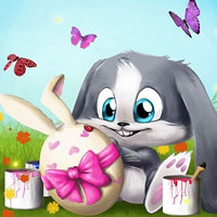 Free online flash games - Happy Easter Jigsaw game - WowEscape