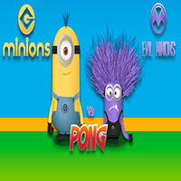 Free online html5 games - Minions VS Evil Minions Pong game