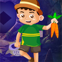 Free online flash games - G4k Carrot Boy Rescue game - WowEscape