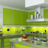 Free online flash games - GFG Modular Kitchen Escape
