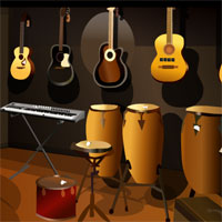 Free online flash games - Music Room Escape TollFreeGames game - WowEscape