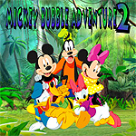 Free online flash games - Mickey Bubble Adventure 2 game - WowEscape