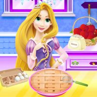 Free online html5 games - Razpunzel Apple Pie Recipe game