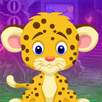 Free online flash games - G4K Pretty Leopard Escape