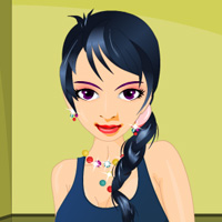 Free online flash games - Sweet Girl Dress Up game - WowEscape