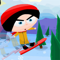 Free online flash games - Snowboard Slope game - WowEscape