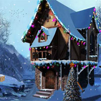 Free online flash games - Ena The Frozen Sleigh-Xavier House 2 Escape game - WowEscape