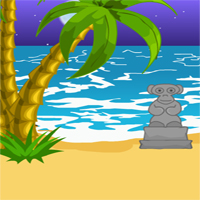 Free online flash games - Escape Baja Beach game - WowEscape