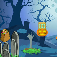 GFG Genie Scary Graveyard Escape 4