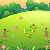 Free online flash games - Dinosaur Hunt game - WowEscape