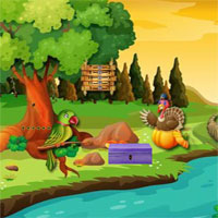 Free online flash games - Thanksgiving Release The Bunny game - WowEscape