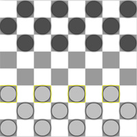 Free online flash games - Checkers game - WowEscape